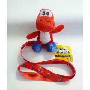 Mario Bros Yoshi Lanyard   Red Yoshi   Red Lanyard