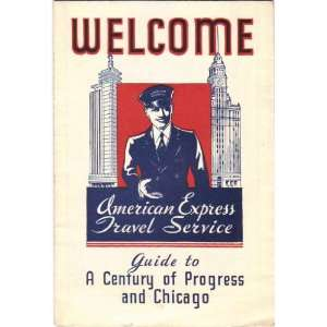 Welcome. American Express Travel Service Guide to A