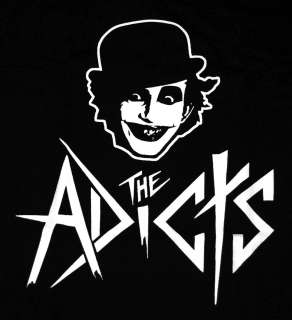 The Adicts Songs Of Praise Album Cover Punk Rock Band T Shirt Tee