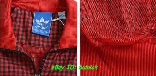 ADIDAS ADICOLOR FIREBIRD TRACK TOP JACKET Red Black 2011 new XL