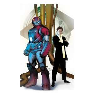 Cover Iron Man, Stark and Tony Giclee Poster Print