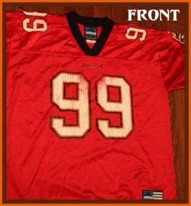 Tampa Bay Buccaneers Warren Sapp NFL Adidas Jersey L on PopScreen 418aad05c
