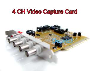 Channel CH 60 FPS DVR Card for Security Camera CCTV