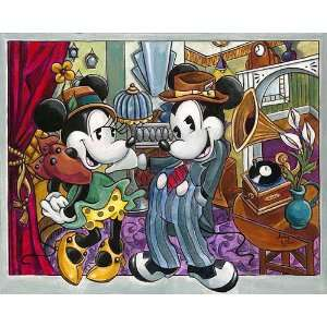 : Dapper Dandies   Disney Fine Art Giclee by Amy Lynn: Home & Kitchen