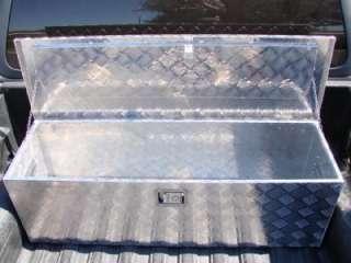48L ALUMINUM TRUCK PICKUP BED TRAILER ATV TONGUE LOCKABLE TOOL BOX