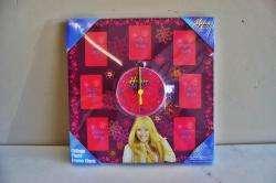 Montana Miley Cyrus Collage Photo Frame Clock