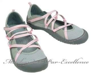 NewJEEP Trail Womens Walking Water Shoes GENESIS VEGAN Gray Pink Size