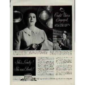 in the U.S. Army Air Corps. .. 1944 Ponds Cold Cream Ad, A1909