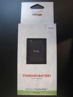 BRAND NEW OEM HTC THUNDERBOLT BATTERY 1400mAh