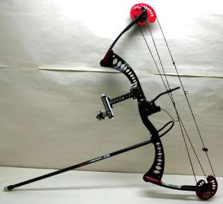 Archery Research AR 34 Compound Target Bow w/ Sure Loc, Fuse VFR, Hard