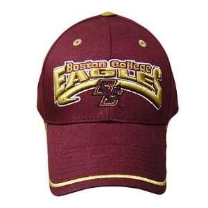 NCAA OFFICIAL BOSTON COLLEGE EAGLES MAROON CAP HAT ADJ