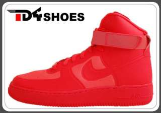 Nike Air Force 1 HI HYP PRM Hyperfuse Premium Solar Red 2011 Shoes