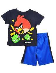 Angry Birds Red Menace 2 Piece Outfit (Sizes 4   7)