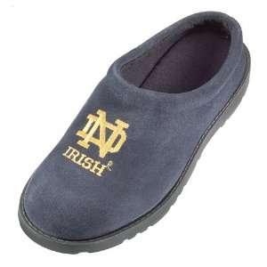 Hush Puppies Notre Dame Fighting Irish Navy Blue Mens Slipper Clogs