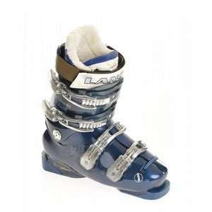 Lange Exclusive 80 Ski Boots Black/Blue Trans Sports