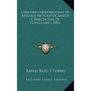Concurso Internacional De Aparatos Anticriptogamicos E
