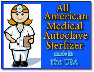 NEW All American Medical Electric Sterilizer Autoclave