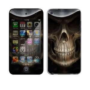Apple iPod Touch 4th Gen Decal Skin   Skull Dark Lord