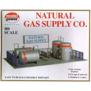 Model Power 417 HO Scale Natural Gas Supply Co. Building