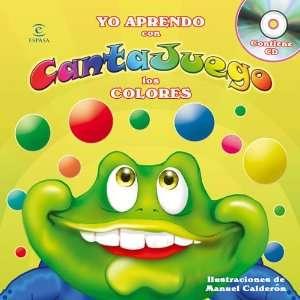 Yo aprendo con Cantajuego. Los colores (9788467033755
