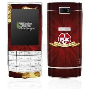 Design Skins for Nokia X3 Touch   1. FCK   You will never