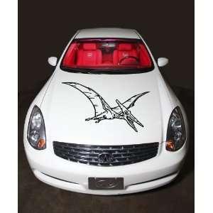 Car Hood Vinyl Sticker Dinosaur Pterodactyl A421