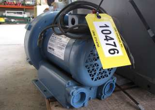 HP AMETEK REGENERATIVE BLOWER MDL. DR404AL72M