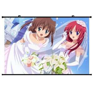 Da Capo Anime Wall Scroll Poster Asakura Nemu and Shirakawa Kotori(35