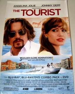 The Tourist Movie Poster Angelina Jolie Johnny Depp