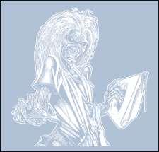 Iron Maiden T Shirt   Eddie   Killers Tee   Heavy Metal T Shirts