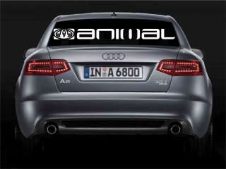 animal bumper / window / windscreen sticker decal BIG