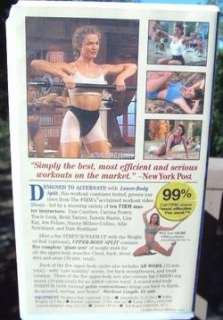 Exercise Fitness VHS Videos The Firm Denise Austin Abs Arms Buns of