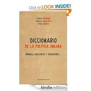 Diccionario de la política chilena (Spanish Edition) [Kindle Edition
