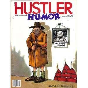 HUSTLER HUMOR JULY 1984 7/84: HUSTLER MAGAZINE: Books