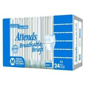 Attends Breathable Brief    Pack of 24    PNGBRB30: Health