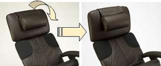 NEW LEATHER / WOOD PERFECT ANTI GRAVITY CHAIR RECLINER