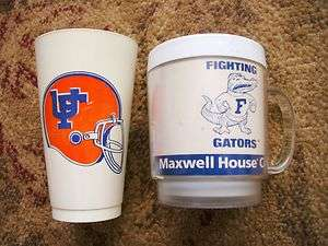 Maxwell House Coffee Mug University of Florida Fighting Gators & Cup