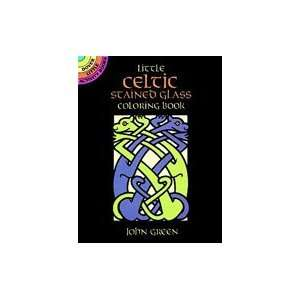 Dover Stained Glass Coloring Book Celtic Arts, Crafts & Sewing