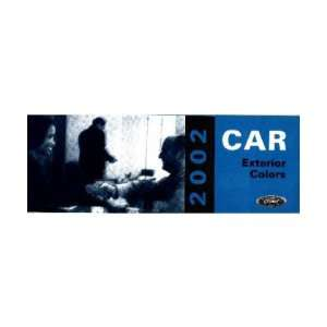 2002 FORD CAR Paint Chips [eb7647N] Automotive