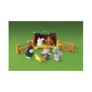 Fisher Price Little People Baby Farm Animals Toys & Games