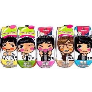 FT Island Kpop Socks 5 Pairs Featuring Hongki, Jong Hun