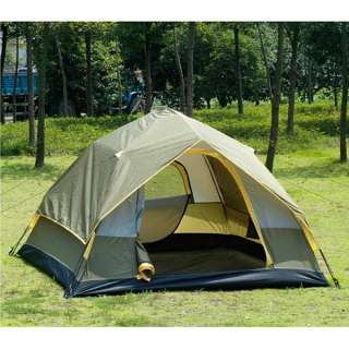 Waterproof Camping Instant Tent Full Automatic Army Green NEW