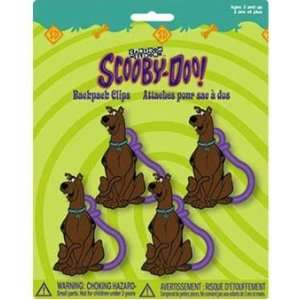 Scooby Doo PVC Figure Party Favors Backpack Clips Toys & Games