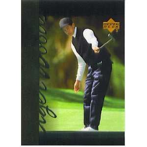 2001 Upper Deck Tigers Tales TT1 Tiger Woods (Golf Cards