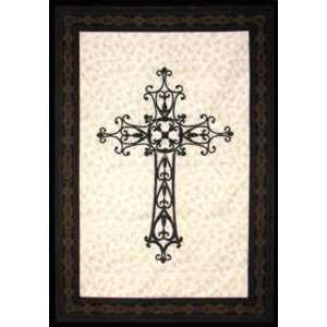 WROUGHT IRON CROSS LASER CUT FUSIBLE APPLIQUES Arts, Crafts & Sewing