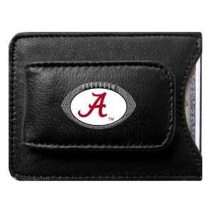 Alabama Crimson Tide NCAA Football Credit Card/Money Clip