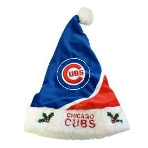 Chicago Cubs MLB Holiday Santa Hat