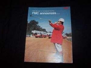 FMC Link Belt Truck Crane Brochure & 50 ton flysheets