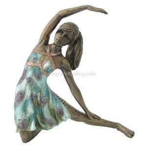 Yoga Lady Trikonasana Triangle Posture Pose Figurine