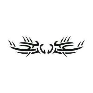 Tattoo Stencil   Tribal Thorn Armband   #565: Health